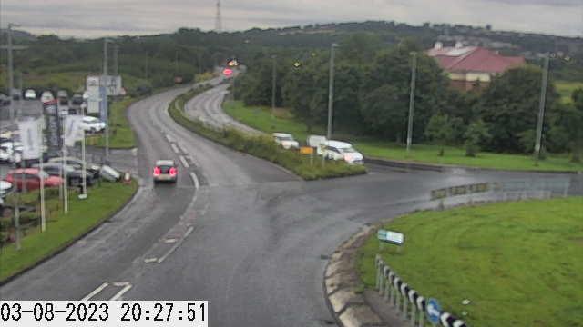 Gateshead - A694 Derwenthaugh Road - A1114 Riverside Way